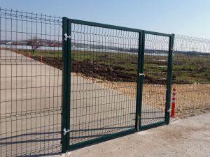 Panel Çit çift Kanat Kapı Montajı